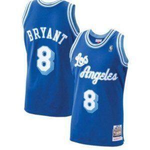 Kobe Bryant retro Los Angeles Lakers City Blue #8